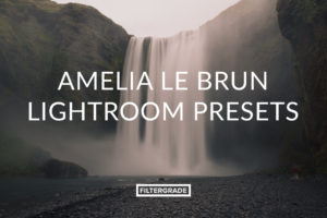 Amelia Le Brun Lightroom Presets for landscape and nature photography.
