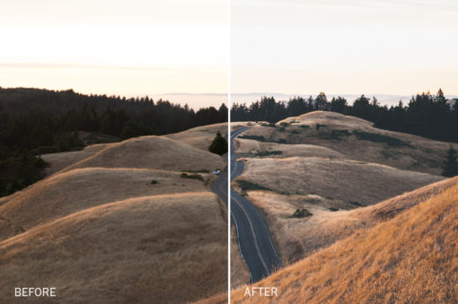 blue shadow lightroom presets by jake dockins