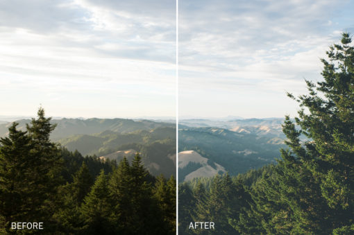 natural landscape presets for lightroom by jake dockins