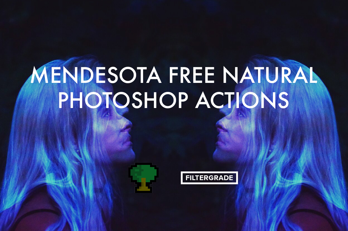 Free natural Photoshop Actions by creative photographer Mendesota.