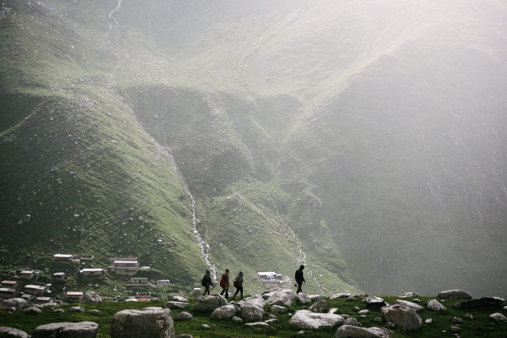 foggy hike with erman celik