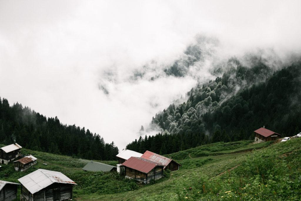 mountain views by erman celik
