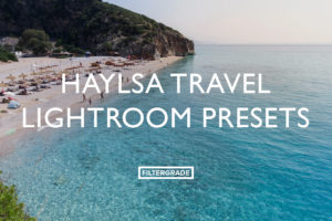 Haylsa Travel Lightroom Presets