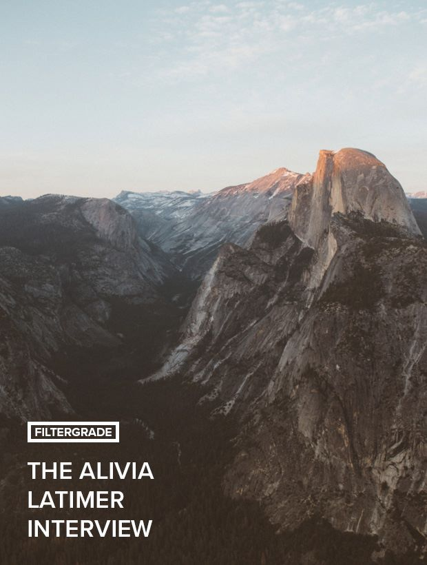 An interview with photography Alivia Latimer from California.