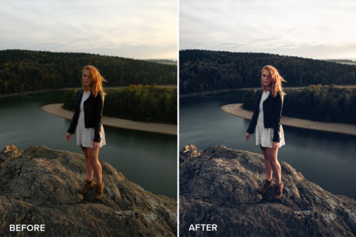 fall portrait lightroom presets