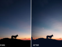 moody sunset lightroom presets
