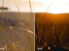 orange sunset lightroom presets for adobe by theo ox