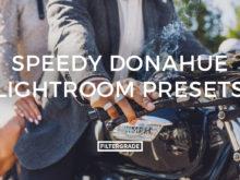 Speedy Donahue Lightroom Presets