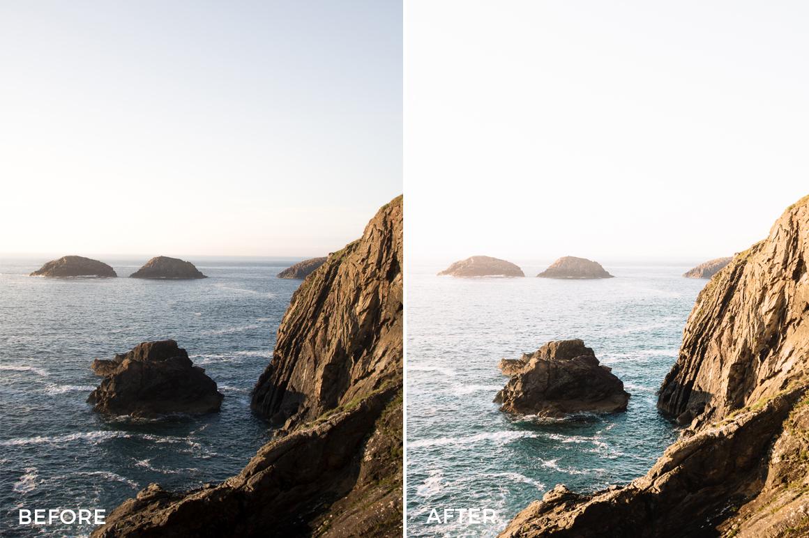 coastal lightroom presets from cooper explores
