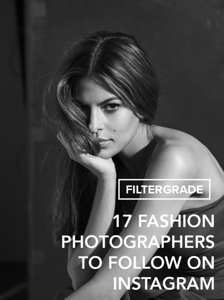 Inspiring fashion photographers to follow on Instagram.