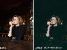5 Grainy Blue Green - Nathan Jesko Lightroom Presets - Nathan Jesko Photography - FilterGrade Digital Marketplace