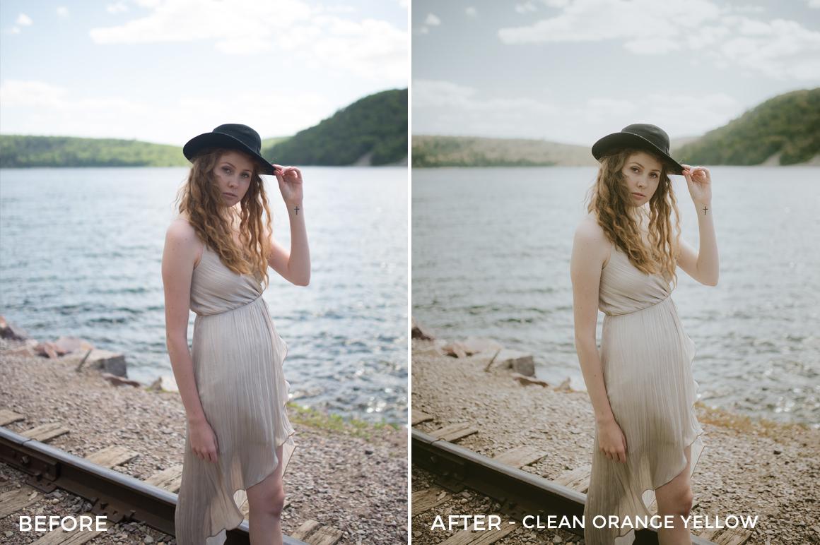 3 Clean Orange Yellow - Nathan Jesko Lightroom Presets - Nathan Jesko Photography - FilterGrade Digital Marketplace