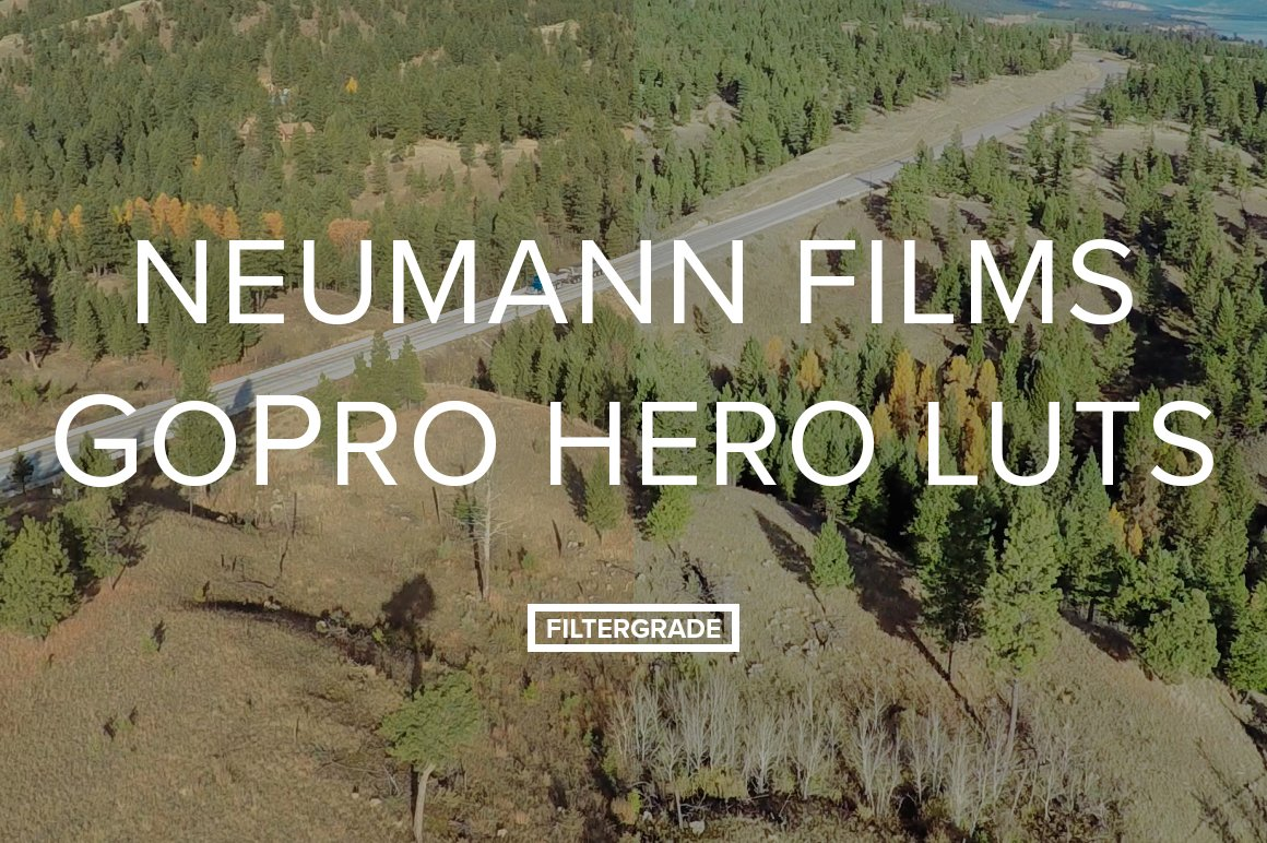 GoPro Cinematic LUTs by Neumann Films