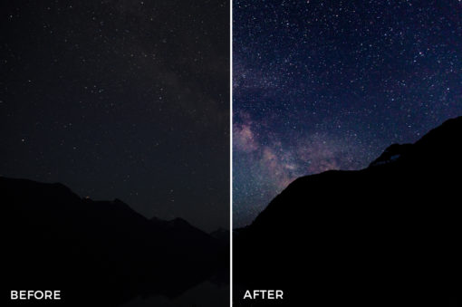 starry night lightroom presets by vancitywild