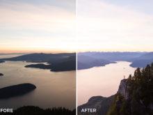 colorful sunset lightroom presets