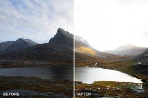 scenic landscape lightroom presets