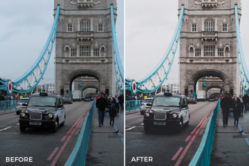 matte blogger lightroom preset
