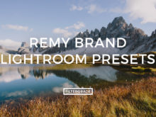 Remy Brand Lightroom Presets