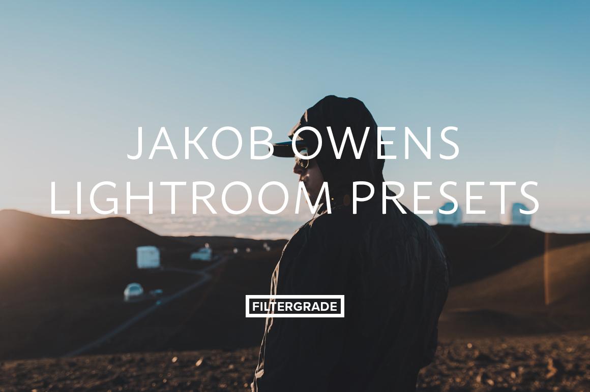 Jakob Owens Lightroom Presets