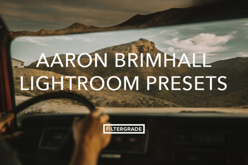 Custom Lightroom Presets by Aaron Brimhall.