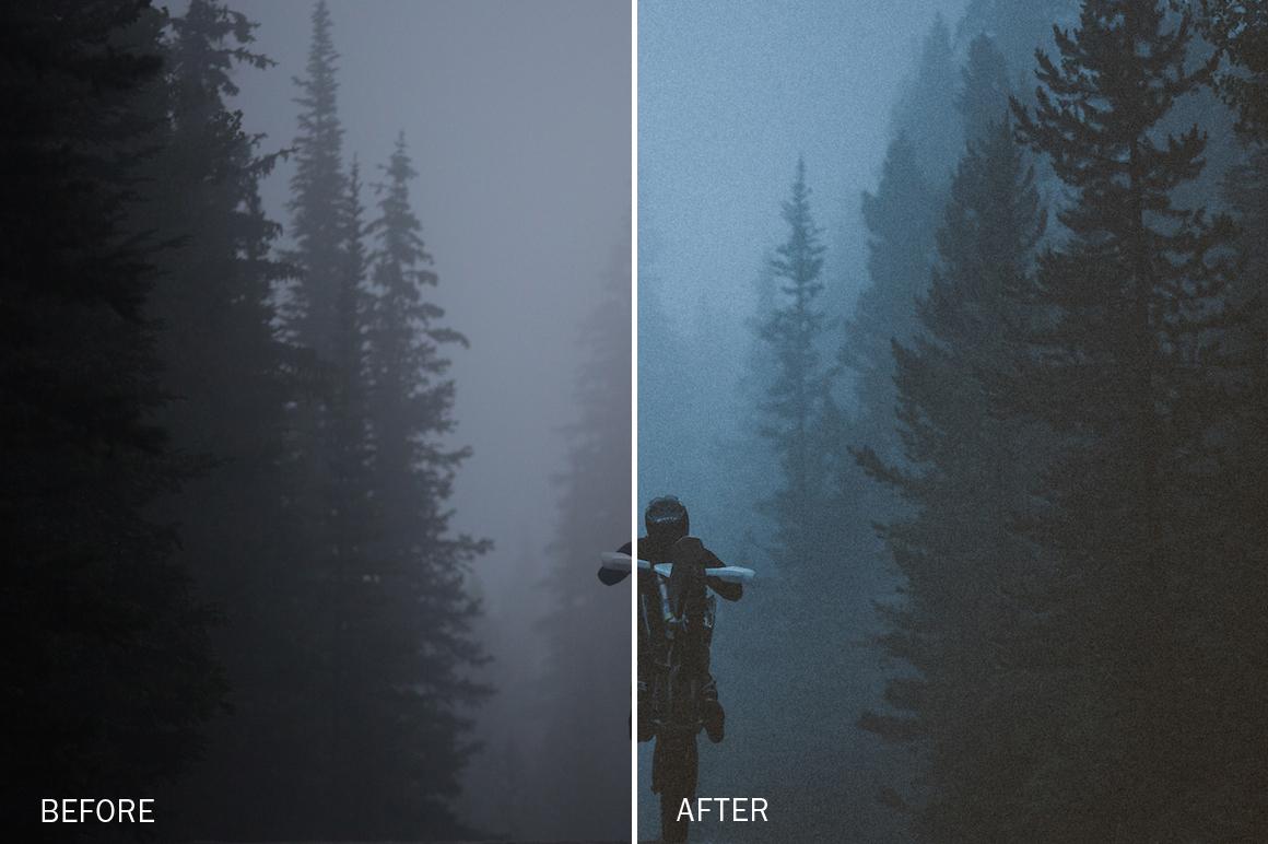Foggy Lightroom Presets