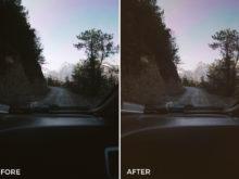 calm landscape lightroom presets