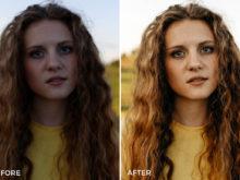 clean portrait lightroom presets