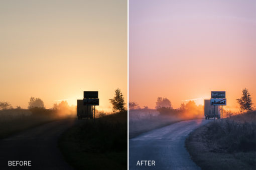 sunset lightroom presets