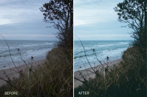 coastal lightroom presets by roberts kimenis