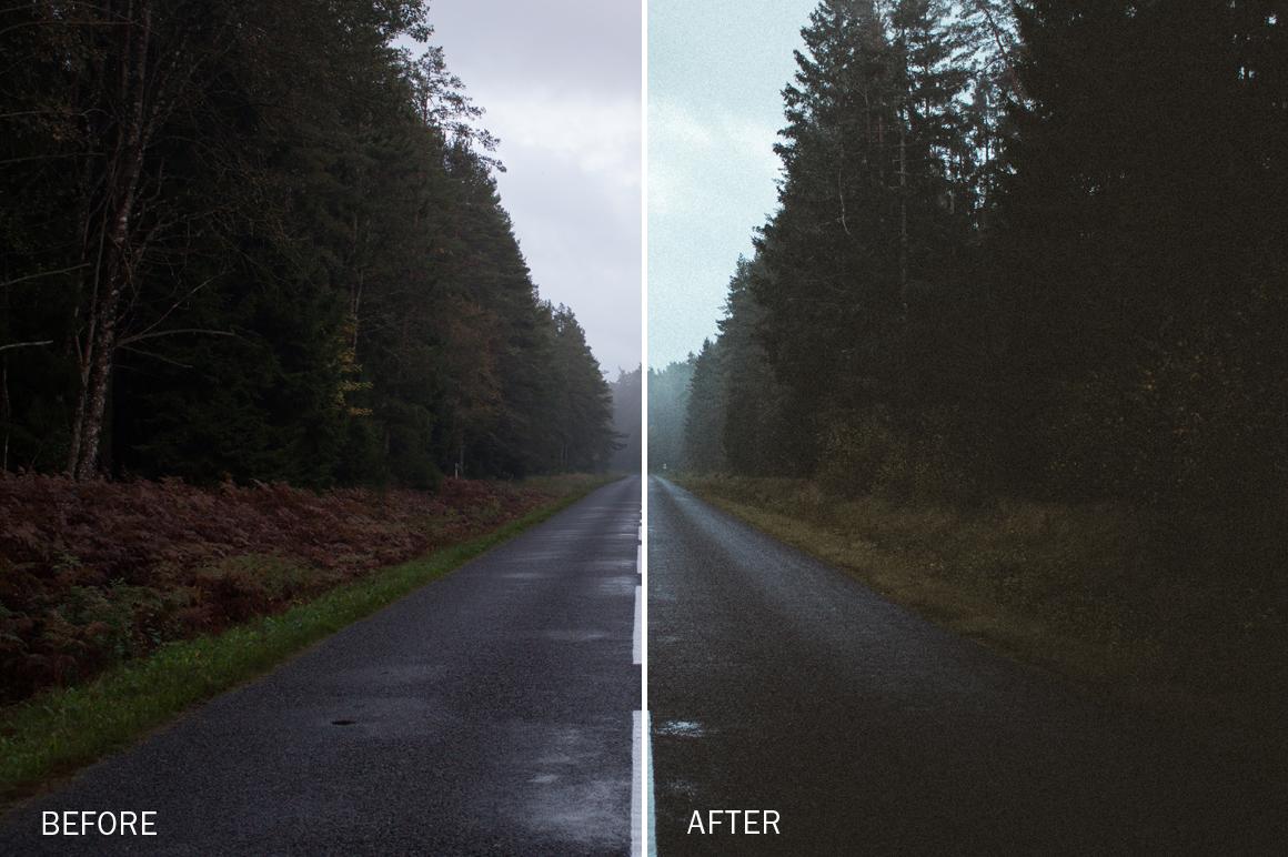 moody landscape lightroom presets