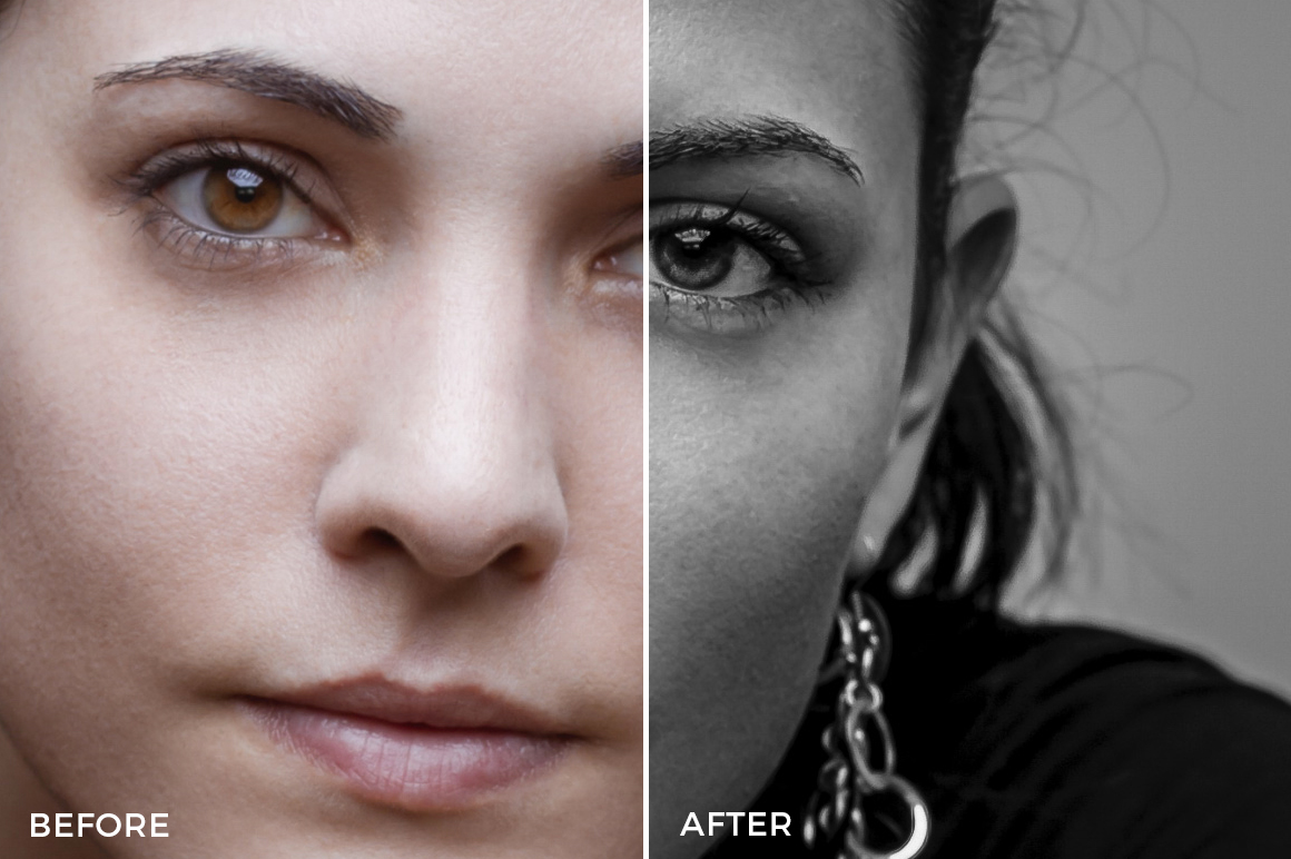 PhotoSerge Black & White Lightroom Presets