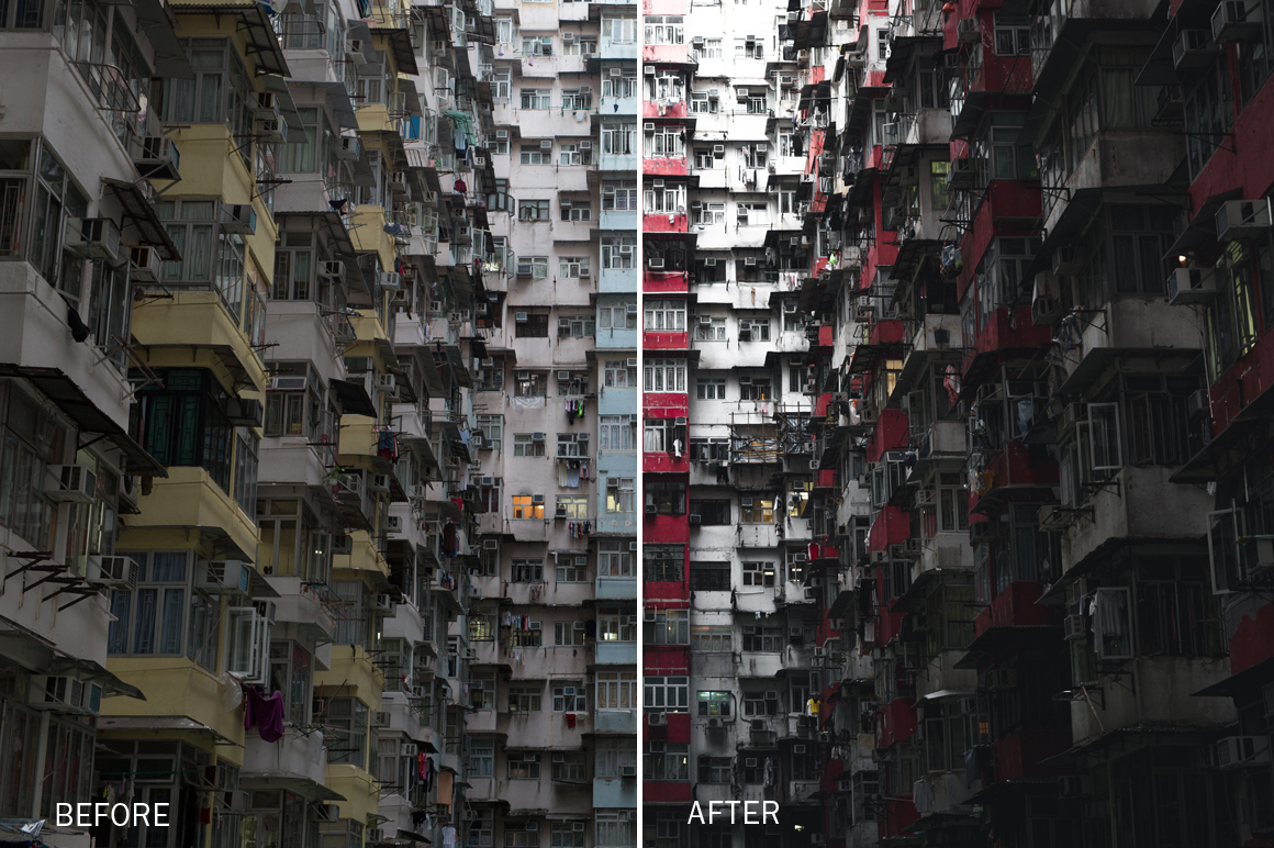 urban lightroom presets by vibesart