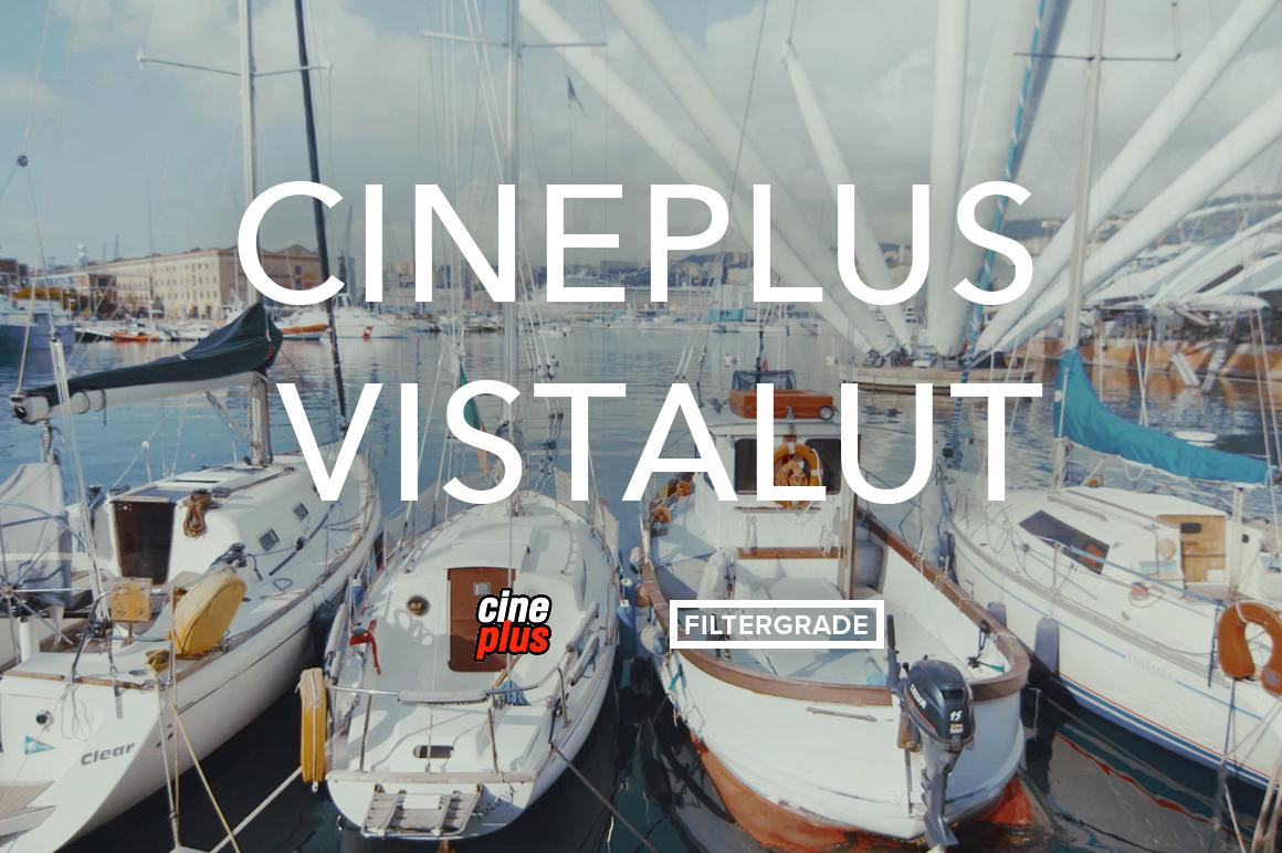 Cineplus VistaLUT Cinematic Video LUTs