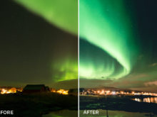 northern lights lightroom