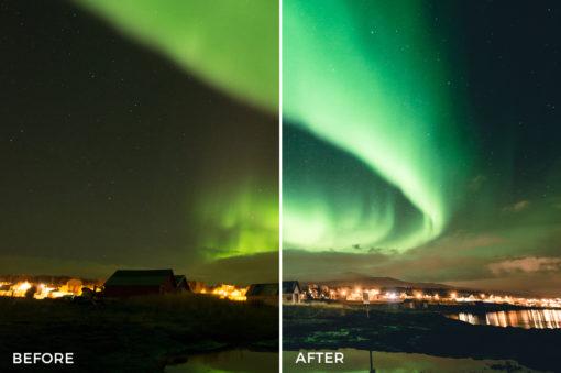 northern lights lightroom