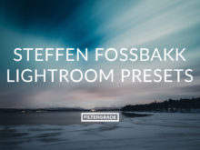 Steffen Fossbakk Lightroom Presets for wilderness photographers