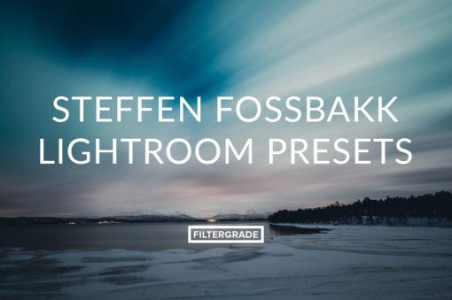 Steffen Fossbakk Lightroom Presets for wilderness photographers