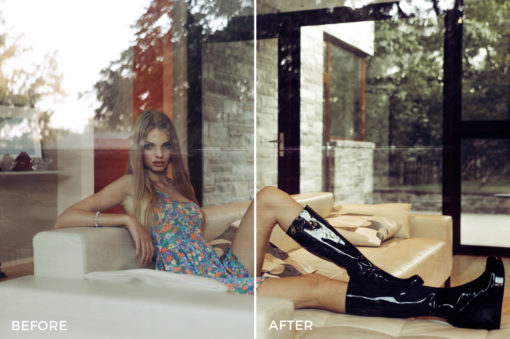 high contrast fashion effects for lightroom