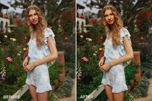 retro editorial shoot lightroom presets