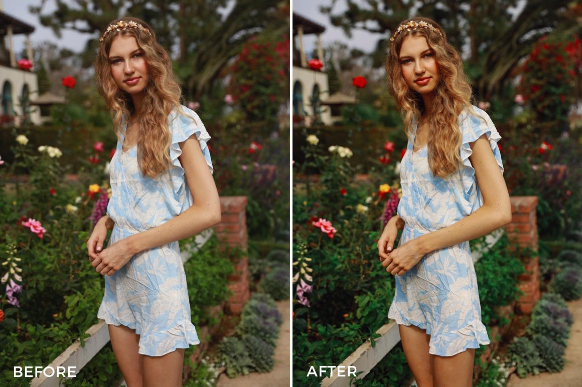 retro editorial shoot lightroom presets