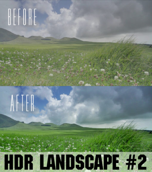 hdr landscapes for adobe premiere pro