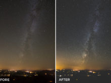 washed out astrophotography lightroom presets
