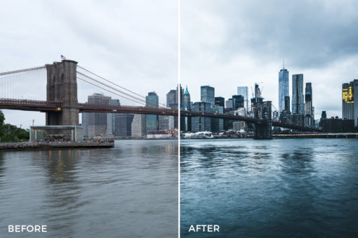 7 What Up New York Lightroom Presets Stéphane Legrand