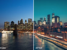 6 What Up New York Lightroom Presets Stéphane Legrand