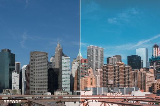 5 What Up New York Lightroom Presets Stéphane Legrand