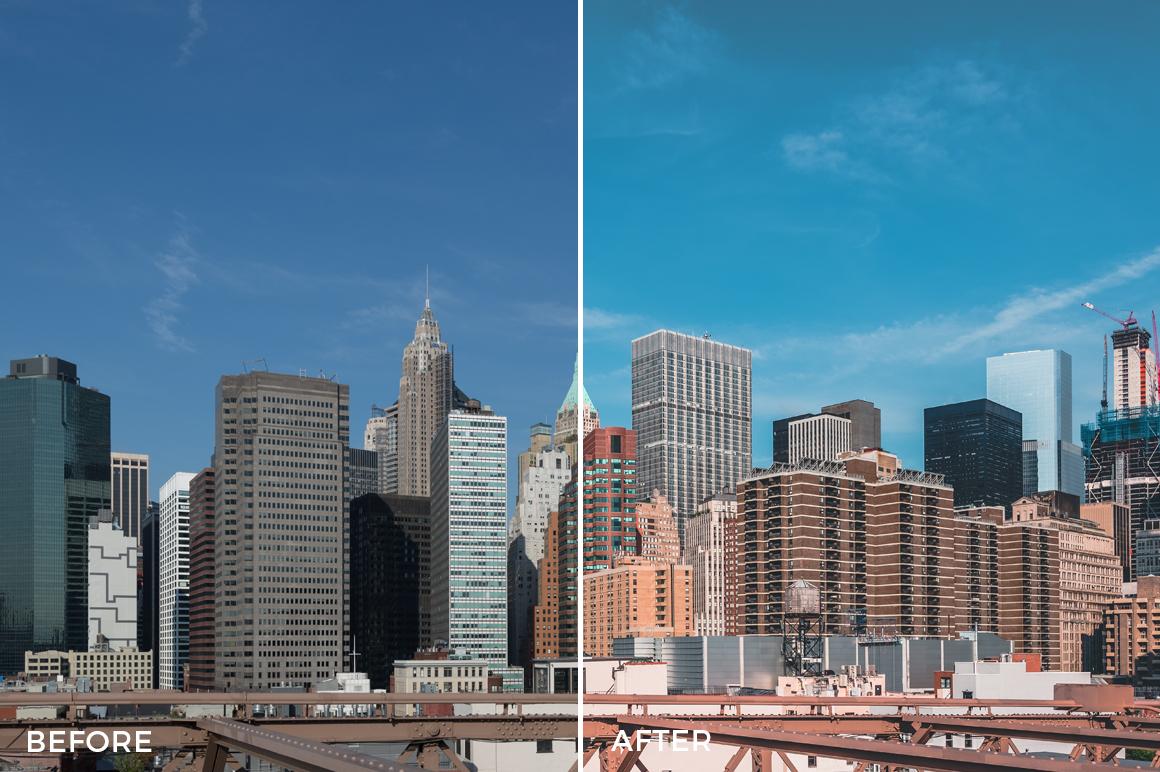 5 What Up New York Lightroom Presets Stéphane Legrand