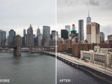 3 What Up New York Lightroom Presets Stéphane Legrand