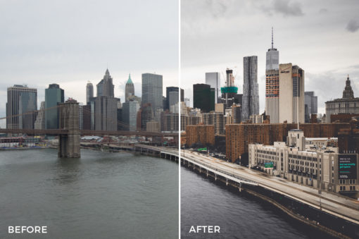 3 What Up New York Lightroom Presets Stéphane Legrand