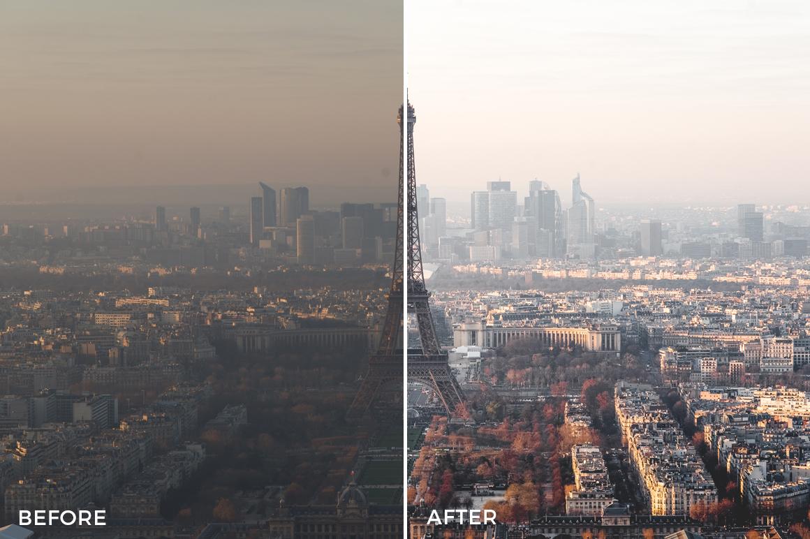 4 Bonjour Paris Lightroom Presets Stéphane Legrand