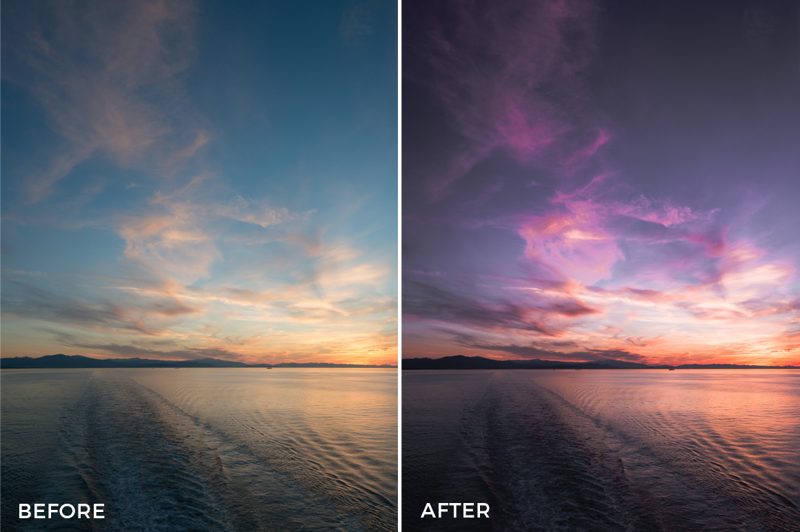 4 Thomas Hill Lightroom Presets